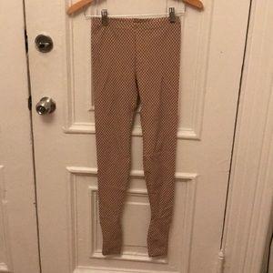 H&M x Margiela fishnet leggings
